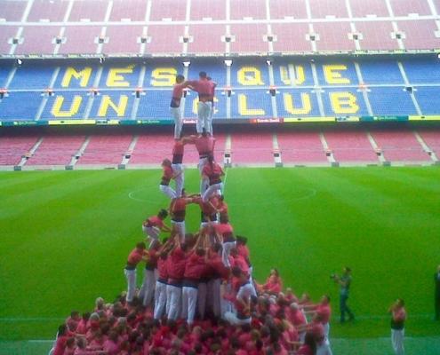 Castellers. Barcelona