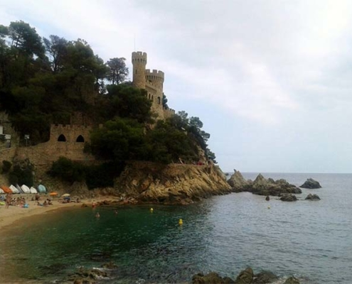 Lloret de Mar castle, Costa Brava. Catalonia