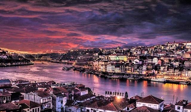 Porto, Night