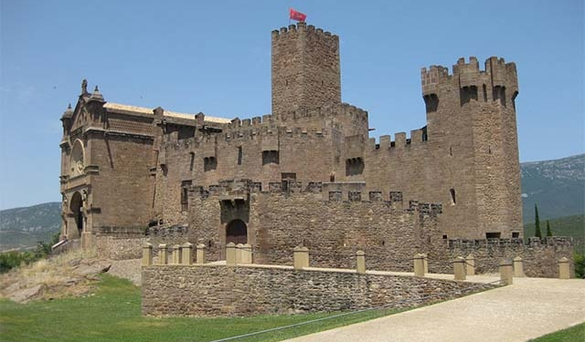 Castle of Xavier, Navarra, Spain