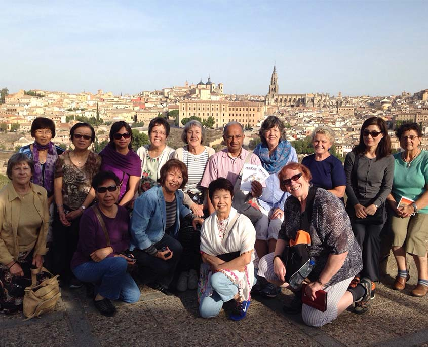 Abacco International cultural group in Toledo