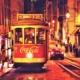 Trolley car, Lissbon, Portugal