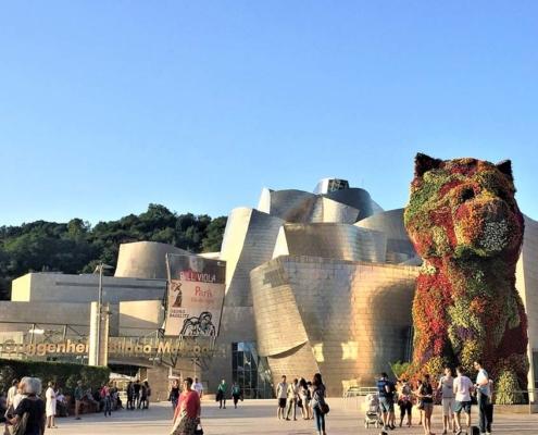 Museum Guggenheim, Bilbao, Spain